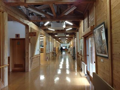 遊学舎 廊下